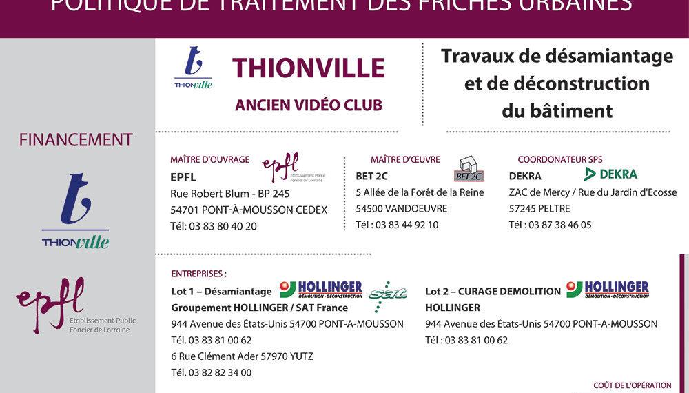 Site Korsec à Thionville