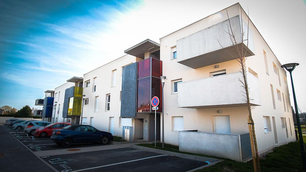 Logements collectifs à Saulxures-les-Nancy