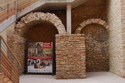 Restauration partielle de la porte St Georges à Nancy