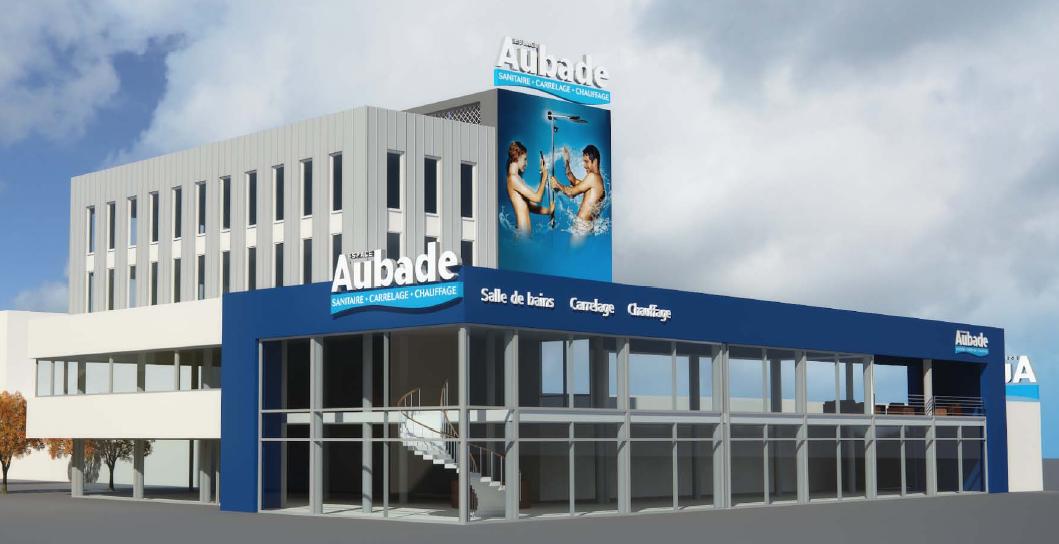 thoughts on official supplier arrives Construction d'une salle d'exposition Aubade à Ivry Sur ...