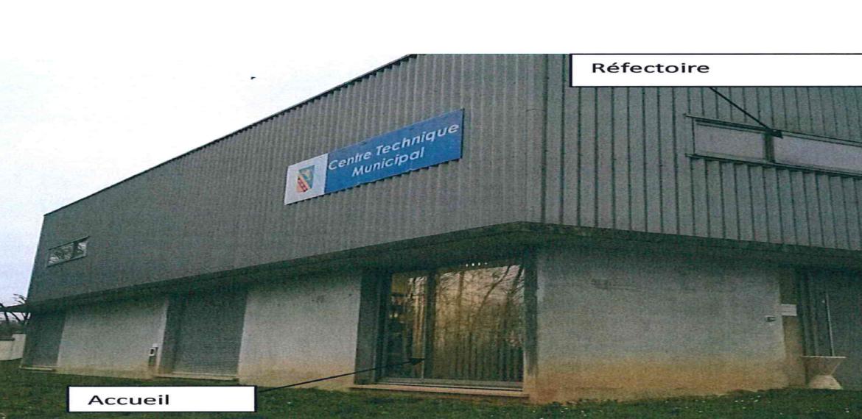 Réaménagement des locaux du centre technique municipal de Pagny Sur Moselle