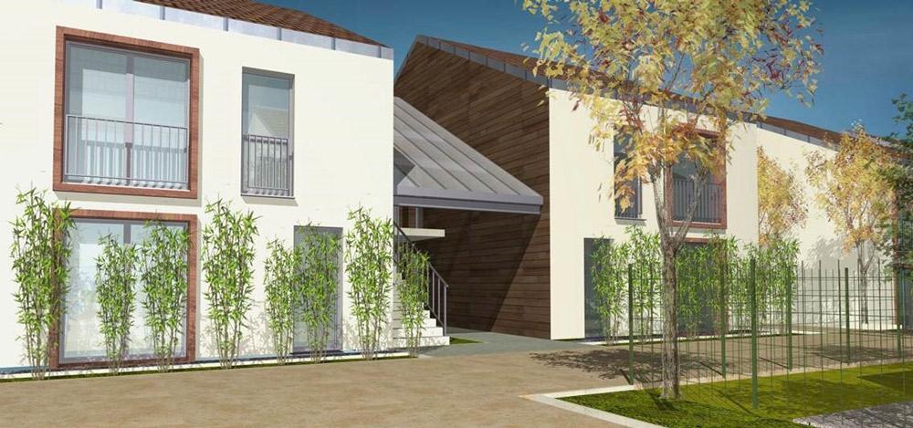 Construction de logements individuels à Verdun